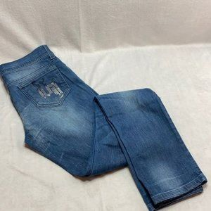 Versace medium faded washed straight leg jeans 27